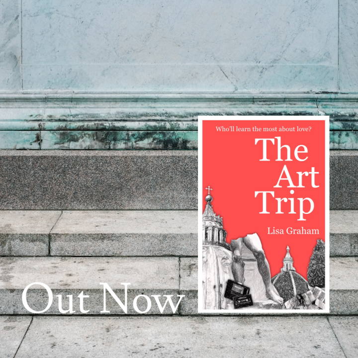 Lisa Graham The Art Trip RomCom Novel