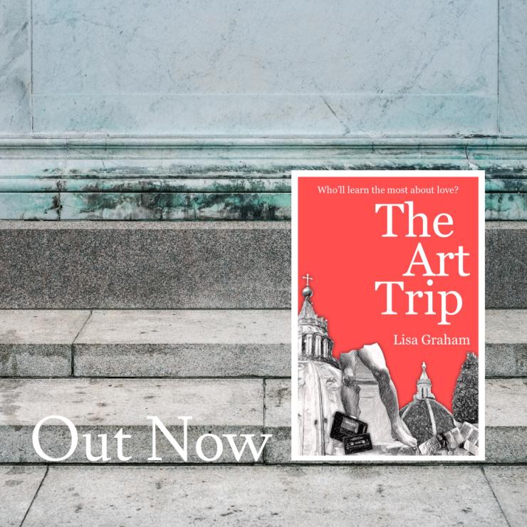 Lisa Graham The Art Trip RomCom Novel